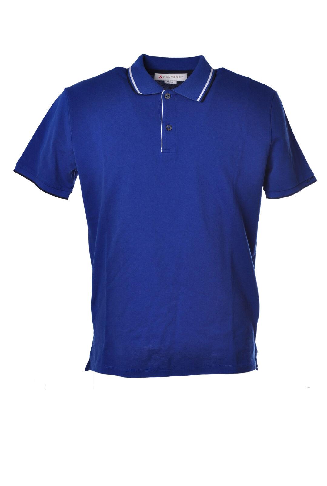 Peuterey  -  Polo - Male - Blau - 1839018A182243