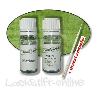 """Klarlack C21l 78211 Od Unparteiisch Lackstift Set Smart """" Jack Black """" Schwarz ; Farbcode"""