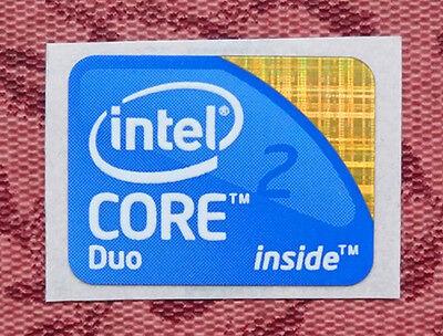 intel Core 2 Duo 2009 Version Sticker 15.5mm x 21mm Laptop size