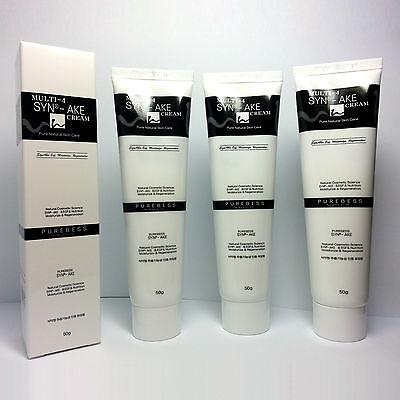 Purebess Multi-4 Syn-ake Snake Venom Cream (1+1+1)150g Moist Anti-Aging Wrinkle