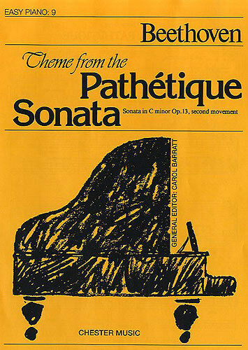 Theme from the Pathetique Sonata Easy Piano No.9 Learn to Play Music Book
