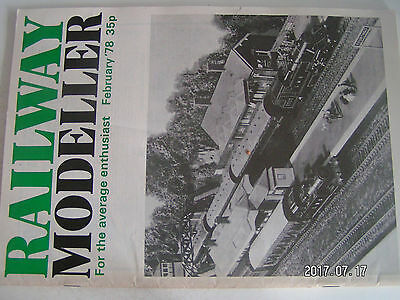 **ac Railway Modeller February 78 Aspetto Attraente
