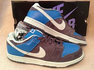 hot sales 49a8a b0fd6 Image is loading New-2006-Nike-Dunk-Low-Pro-SB-size-