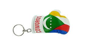 Keychain Mini boxing gloves key chain ring flag key ring cute montenegro
