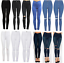 WOMENS-HIGH-WAISTED-SKINNY-JEANS-RIPPED-LADIES-JEGGINGS-KNEE-6-8-10-12-14-16-18