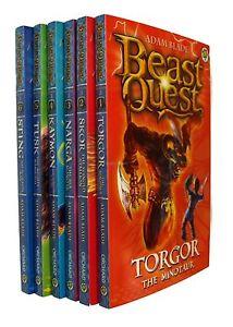 Beast-Quest-Series-3-Dark-Realm-6-Books-Adam-Blade-Boys-Adventure-Fun-New