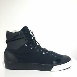 Y3 Adidas Sen High Top Sneakers Black 7 NIB 4057286180083  1bebb7c36839