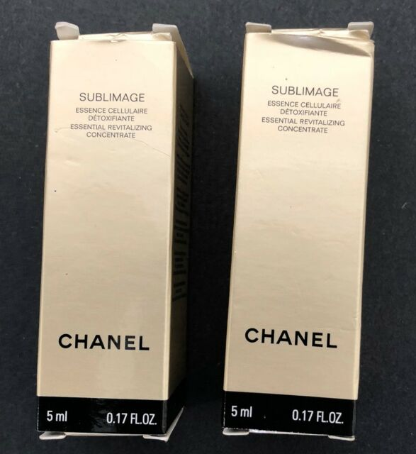 Chanel Sublimage L'Essence Essential Revitalizing Concentrate Lot of two 5 ml