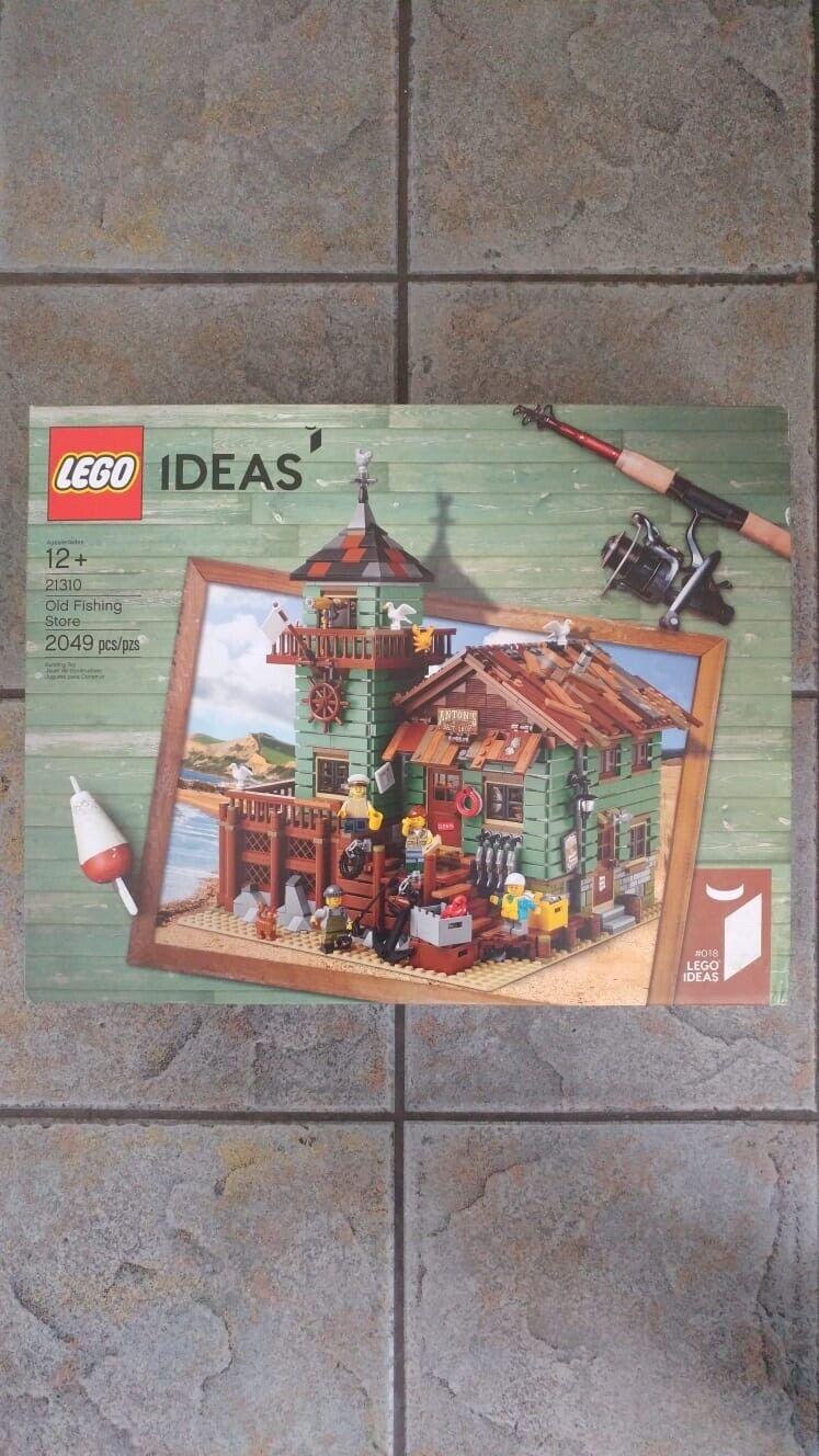 LEGO IDEAS  OLD FISHING STORE 21310 nouveau & SEALED   Hard To Find  pour vous offrir un shopping en ligne agréable