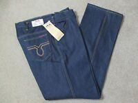 Vintage Dakota Men's Blue Jeans Straight Leg 100% Cotton 42w X 32l Usa Made