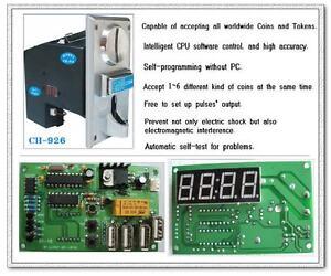 Multi-Coin-Acceptor-USB-timer-control-board-cafe-kiosk