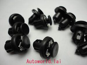 Nylon Bumper Retainer Clips For Honda /& Acura # 91506-S9A-003 USA SELLER QTY 25