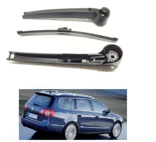 VW Passat B6 Estate 2005-10 Rear Windscreen Window Wiper Arm & Blade New