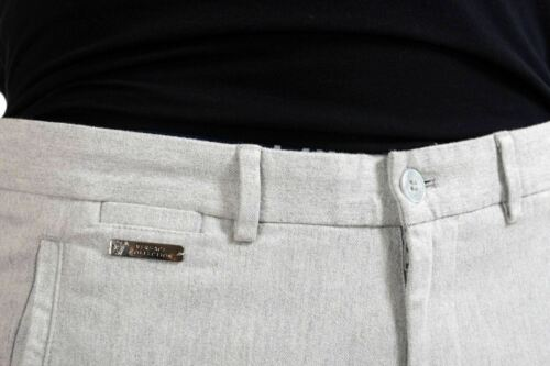 Versace Collection Men/'s Light Gray Casual Pants Size 30 32 34 36 38 40