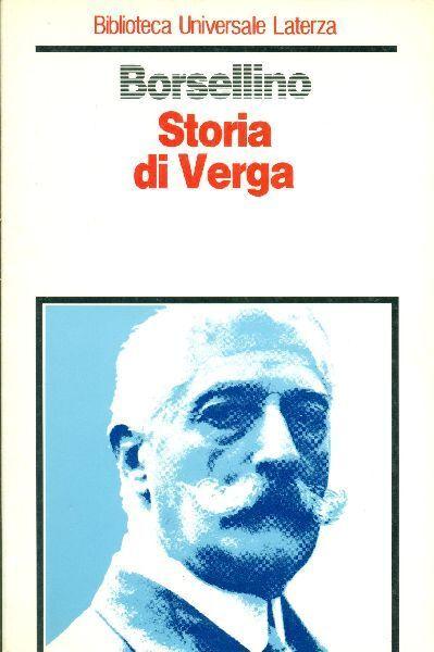 BORSELLINO Nino - Storia di Verga