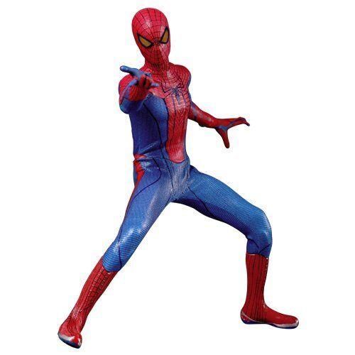 Nuevo Movie Masterpiece Amazing Spider-man Hombre Araña 1 6 Figura de Acción Hot Toys