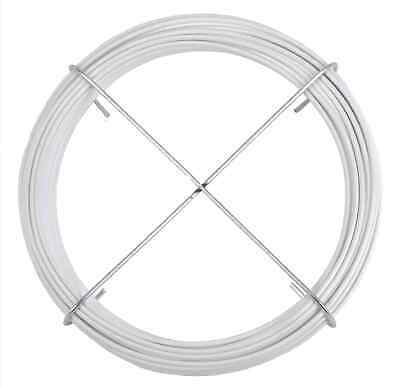 Impartial 20 Mt Rope Cable Wire Plasticized Clothes Horse White ø 0 1/8in Laundry Household Supplies & Cleaning