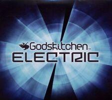 Godskitchen Electric (SEALED 3xCD) Tiesto Deadmau5 Swedish House Mafia Afrojack