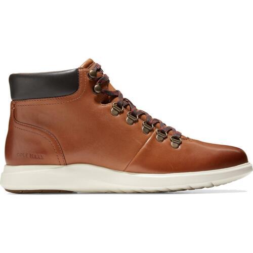 BHFO 5054 Cole Haan Mens Grand Plus Essex Tan Hiking Boots Shoes 9 Medium D