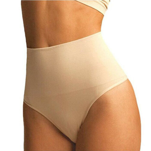 Womens Taille Bauch Control Thong Body Shaper Panty Po Lifter Unterwäsche