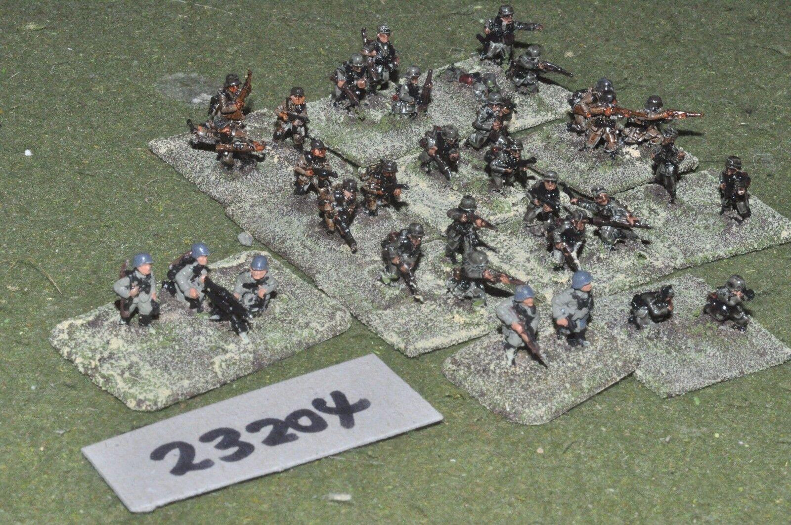 15mm WW2   german - platoon 30 figures - inf (23204)