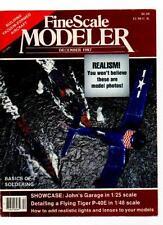 FINE SCALE MODELER MAGAZINE - December 1987