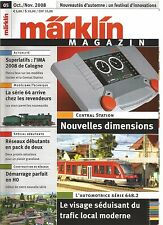 MARKLIN MAGAZIN N°05 - RESEAUX DEBUTANTS / CENTRAL STATION / AUTOMOTRICE 648.2