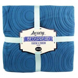 Luxury-Teal-Circle-Large-Bedspread-Blanket-Throw