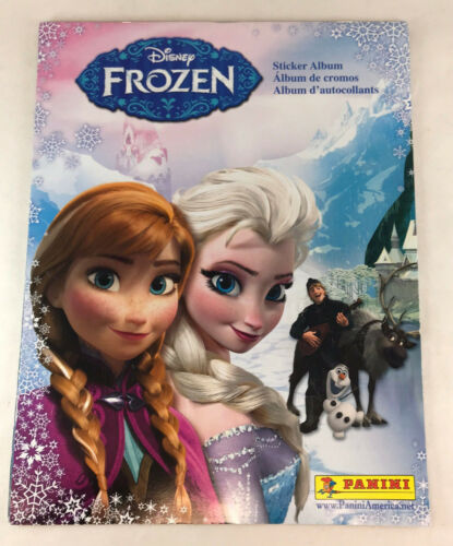 10 STK /& POSTER PANINI STICKER ALBUM Disney FROZEN Empty//Unused