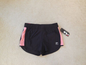 6bc36517459d NWT Women's FILA SPORT® Mesh Panel Shorts Running Size X Small Black ...