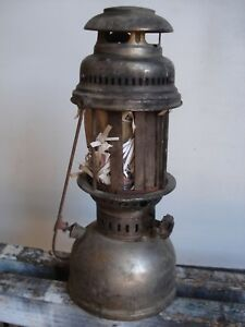 Lume Lanterna Lampada Ad Olio O Petrolio Vintage Metallo Ebay