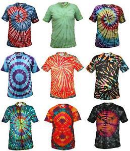 Tie-Dye-T-Shirt-Music-Festival-Tye-Dye-Tee-Hipster-Retro-Unisex-Short-Sleeve-Top