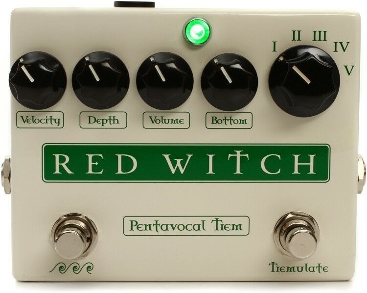 NEW rot WITCH PENTAVOCAL Tremolo All True Analog Tremolo Pedal