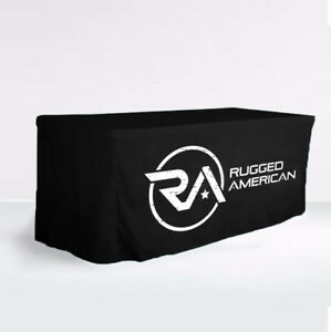 Personalized Trade Show Fitted Table Cloth Custom Table Cloth For
