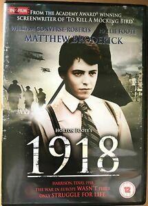 Details about 1918 DVD Nineteen Eighteen 1985 Horton Foote Drama Movie w/  Matthew Broderick