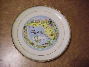 Florida-8-034-Souvenir-Collector-Plate-A-1985