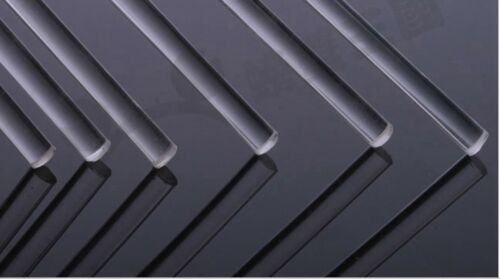 5 PCS//SET CLEAR ACRYLIC PLEXIGLASS LUCITE ROD 3mm DIAMETER 250mm LONG
