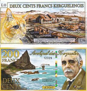 Kerguelen - 200 Francs 2012 Unc-afficher Le Titre D'origine Rw5qhksf-07224756-474368643