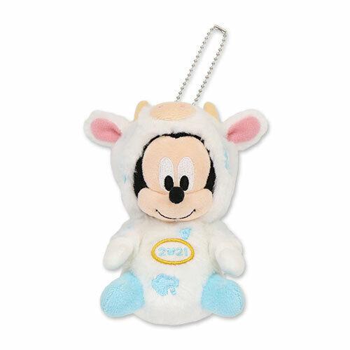 Pre-Order Tokyo Disney Resort 2021 New Year of Cow Plush badge Mickey