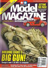 TAMIYA MODEL MAGAZINE INTERNATIONAL, APRIL, 2012  ( BUILDING ISRAEL'S BIG GUN !
