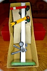 Vintage Hornby O Gauge No 2 Double Arm Signal And Original Box