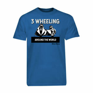 Royal-Blue-3-Wheeling-T-shirt-Tee-3-Wheeling-Around-the-World-Sidecar-Racing