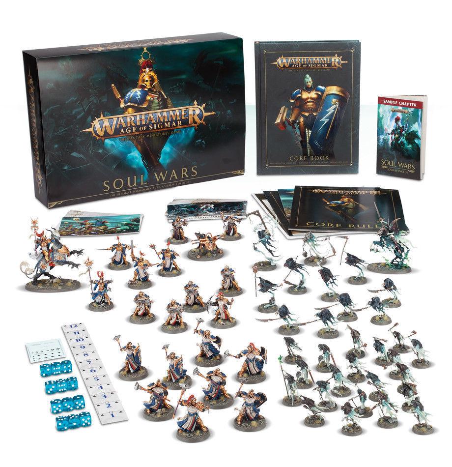 Warhammer Age of Sigmar - Soul Wars Box Set Set Set - Brand New  -  FREE 2-Day Ship  cfbb3d