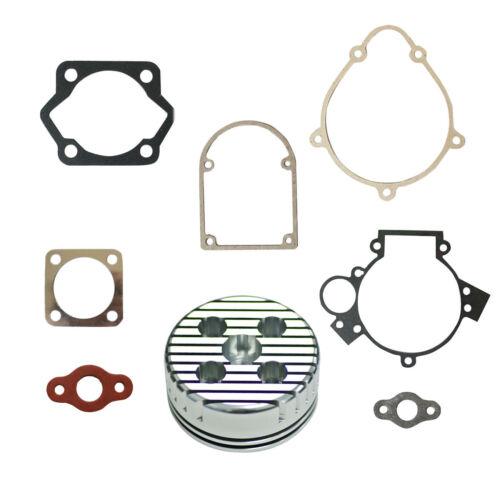 Colorful CNC Cylinder Head Gasket Set For 80cc Motorized Bike Motor Engine