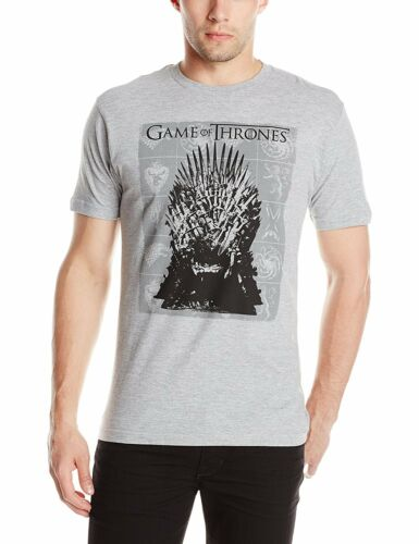 Game of Thrones Iron Throne Graphic Heather T-Shirt