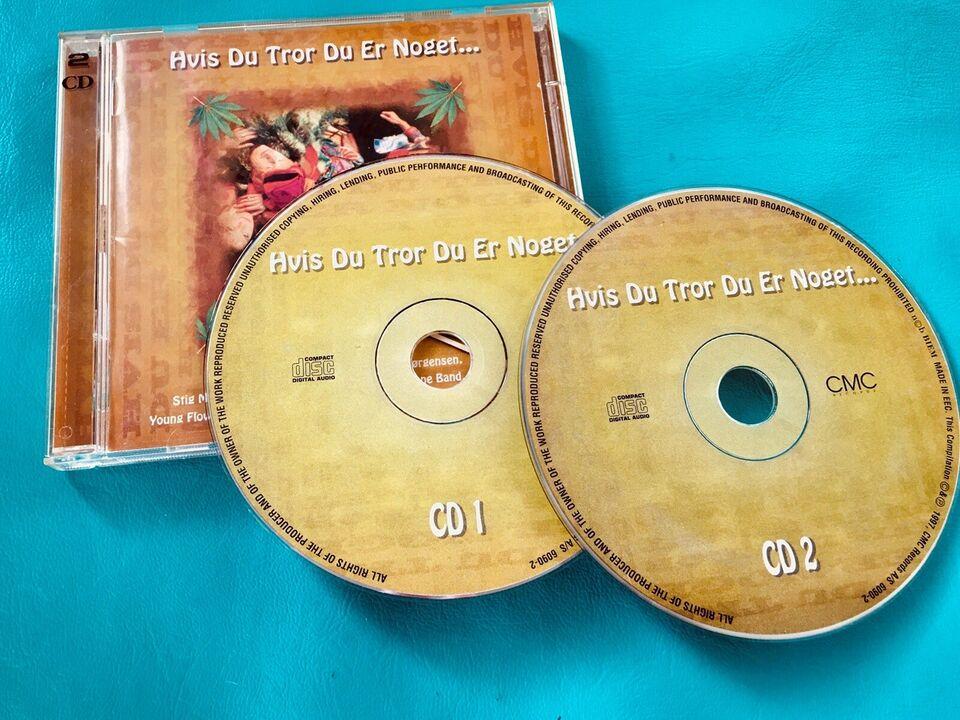 Diverse (2CD): Hvis du tror du er noget..., rock