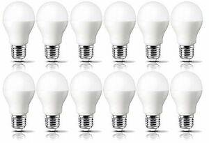 Pack-of-12-LED-Light-Bulbs-60w-Incandescent-Equivalent-Quick-amp-FREE-Shipping