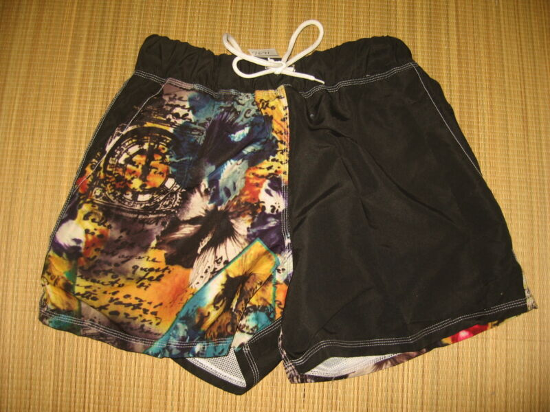 "$55 Hurley Boy's  Phantom Boardshorts Youth Size 10//25"" Trunks Orange//Volt NWT"