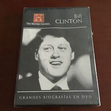 BILL CLINTON GRANDES BIOGRAFIAS - 1 DVD - 50 MIN - NEW & SEALED - NUEVA EMBALADA