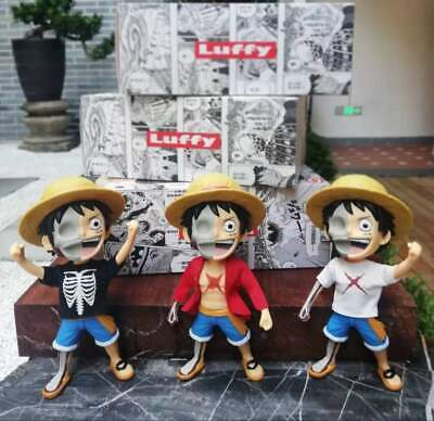 Anime One Piece 12cm Boa Hancock /& Monkey D Luffy With Sofa PVC Figure New NoBox